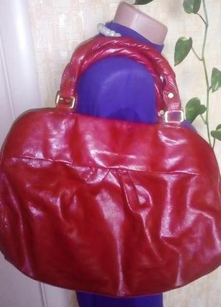 Роскошная 100% кожаная сумка/сумочка/торба/сумка/рюкзак/клатч/торба/куртка/юбка3 фото