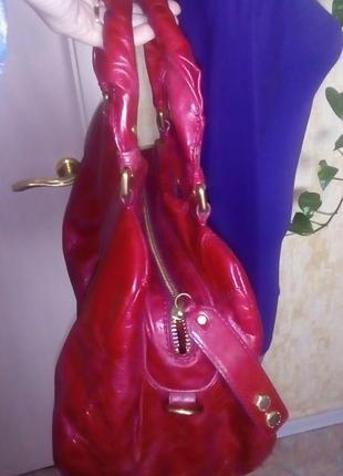 Роскошная 100% кожаная сумка/сумочка/торба/сумка/рюкзак/клатч/торба/куртка/юбка4 фото