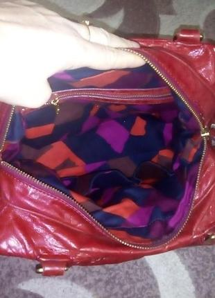 Роскошная 100% кожаная сумка/сумочка/торба/сумка/рюкзак/клатч/торба/куртка/юбка9 фото