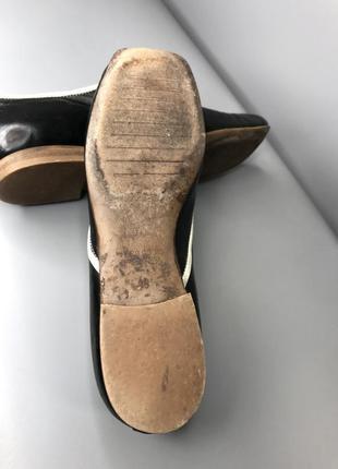 Туфли оксфорды женские с квадратным носком мысли кожаные cuccinelli fabiana6 фото