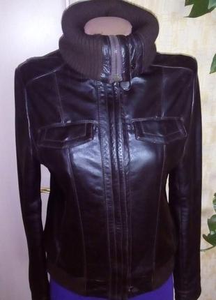 Кожаная куртка бомбер/куртка/пуховик/косуха/бомбер/пиджак/кофта/кардиган/жакет2 фото
