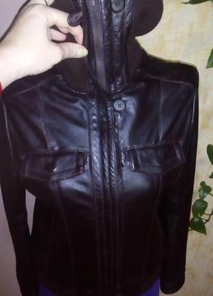 Кожаная куртка бомбер/куртка/пуховик/косуха/бомбер/пиджак/кофта/кардиган/жакет6 фото