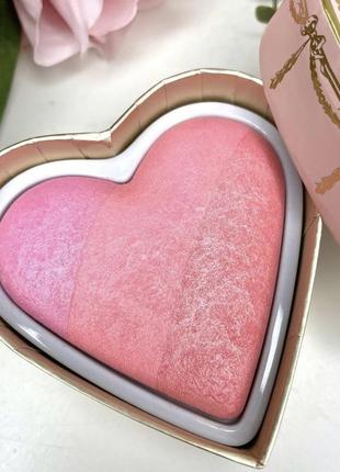 Румяна too faced