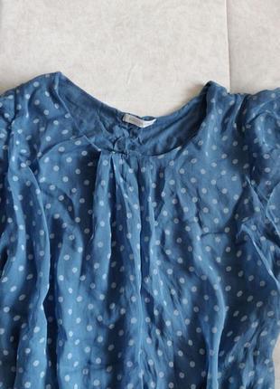 Шелковая блуза шёлковый топ натуральный шелк2 фото