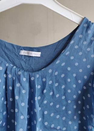 Шелковая блуза шёлковый топ натуральный шелк3 фото