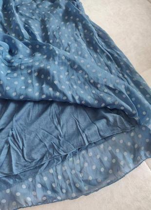 Шелковая блуза шёлковый топ натуральный шелк4 фото