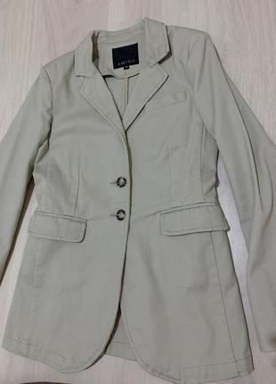 Блайзер/женский пиджак коттоновый4 фото