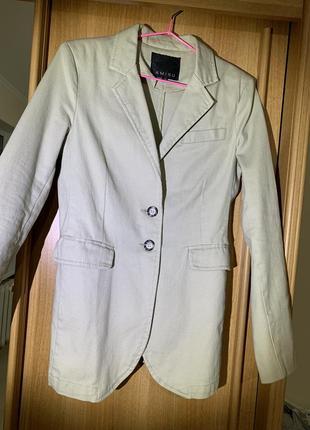 Блайзер/женский пиджак коттоновый3 фото