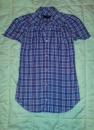 Рубашка, платье в клетку dsquared оригинал