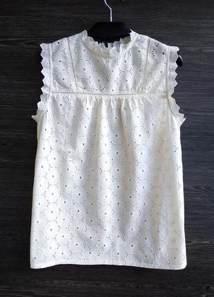 Красивая блуза из прошвы h&m.
