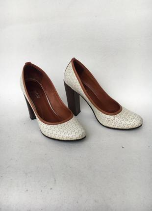 Кожаные туфли италия р.37