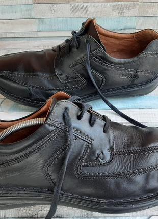 Josef seibel туфли мокасины