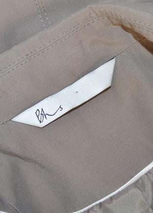 Брендовый коттоновый плащ тренч с поясом и карманами bhs вьетнам этикетка3 фото