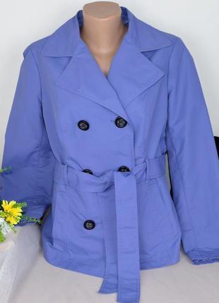 Брендовый плащ тренч с поясом и карманами marks&spencer этикетка1 фото