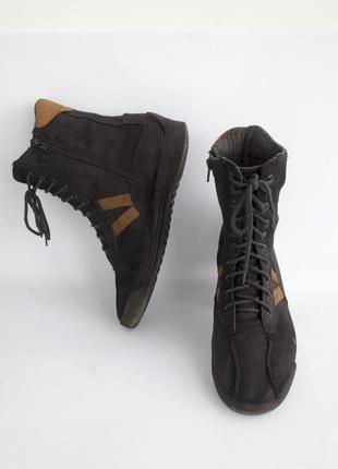 Высокие кеды демисезон ботинки