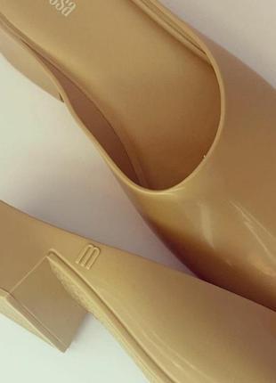 Melissa сабо босоножки туфли изумительно пахнущие босоножки3 фото