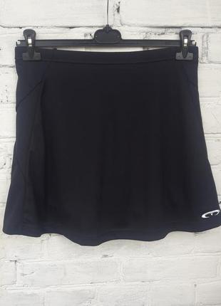 Юбка-шорты для спорта mercian high performance skirt спідниця-шорти для спорту