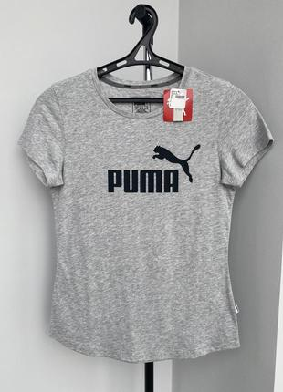 Puma футболка пума с лого повседневная оригинал