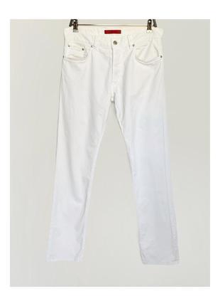Белые стрейч джинсы hugo boss