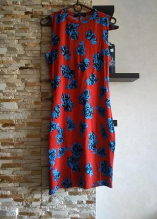 Натуральное обьлегающее платье
