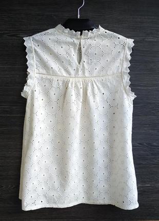 Красивая блуза из прошвы h&m.4 фото