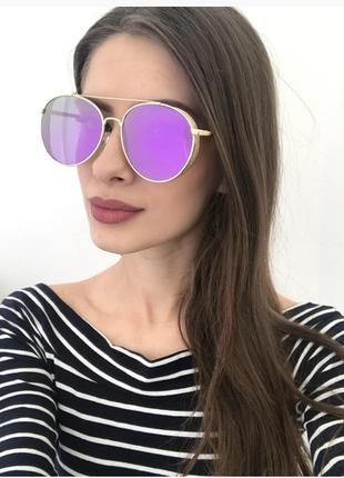 Женские солнцезащитные очки авиатор