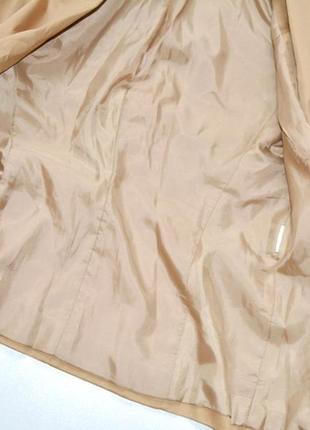 Tally weijl стильный приталенный жакет,цвета кемел,жакет деловой4 фото