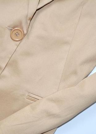 Tally weijl стильный приталенный жакет,цвета кемел,жакет деловой3 фото