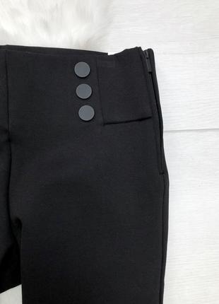 Чорні, плотні, стрейчеві лосини zara4 фото