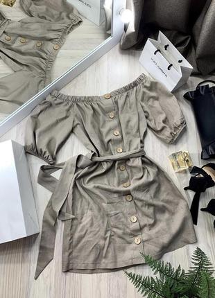 Льняное платье сукня з льону платье из льна