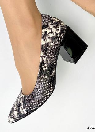 Туфли натуральная кожа4 фото