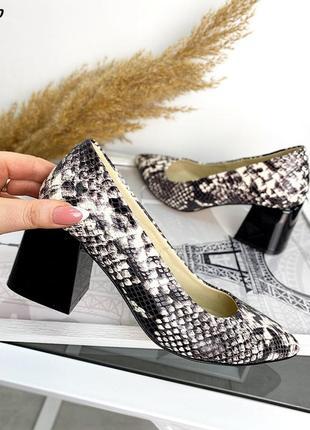 Туфли натуральная кожа1 фото