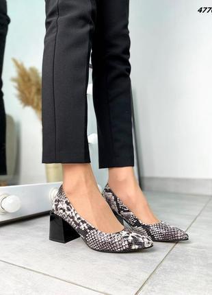 Туфли натуральная кожа6 фото