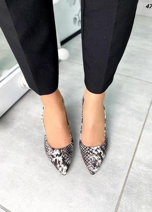 Туфли натуральная кожа5 фото