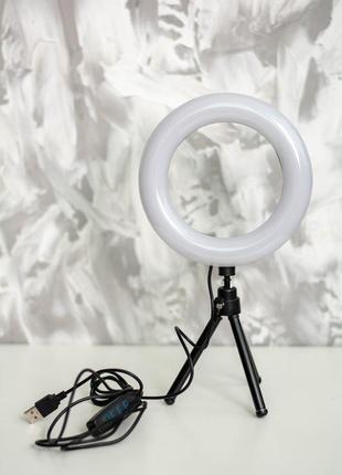 Лампа ring fill light 16 см новая