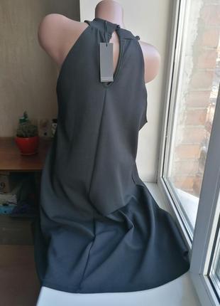 Новое с биркой черное фактурное платье pink clove (к097)2 фото