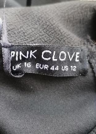 Новое с биркой черное фактурное платье pink clove (к097)6 фото