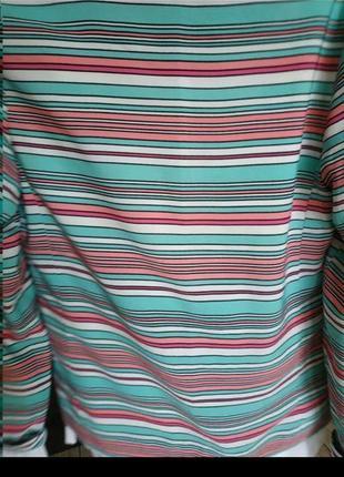 Жакет в полоску кардиган пиджак3 фото