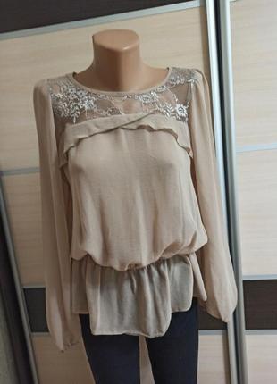Блуза с открытой спинкой new look