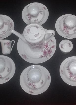 Оригинальный кофейный набор kahla из германии. гдр. новый.раритет 60-х
