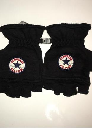 Оригинальные перчатки варежки converse all stars