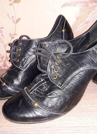 Туфли кожа 36-37 р.