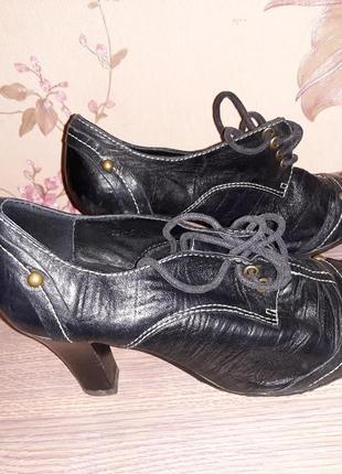 Туфли кожа 36-37 р.2 фото