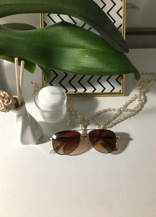 Классические солнцезащитные очки «капельки»