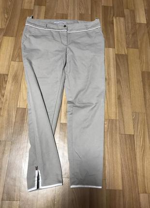 Фирменные натуральные укорочённые брюки