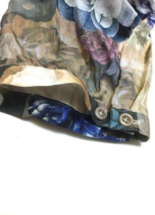 Винтажная шёлковая блуза madeleine 100% шёлк3 фото