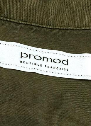 Рубашка из лиоцела блуза с вышивкой лиоцел promod6 фото