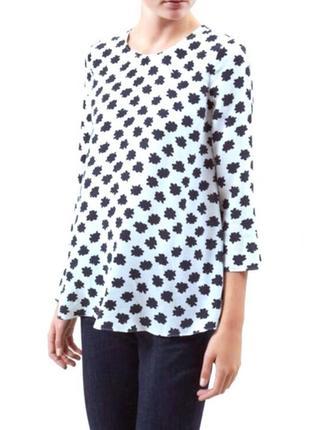 Шёлковая блуза топ hobbs 100% шёлк