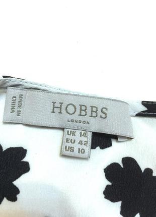 Шёлковая блуза топ hobbs 100% шёлк4 фото