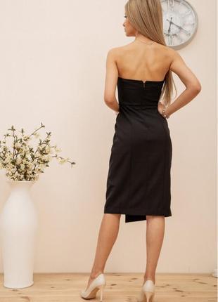 Платье, цвет чёрный3 фото